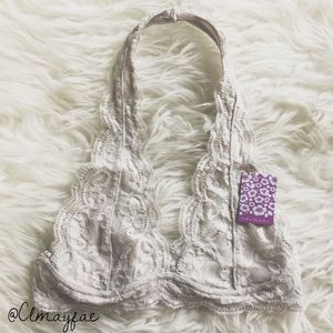 Other - New Dove Lace Halter Bralette